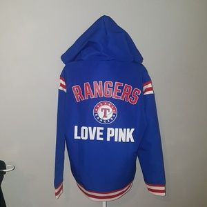 Pink by VS  Texas Rangers Baseball Hoodie